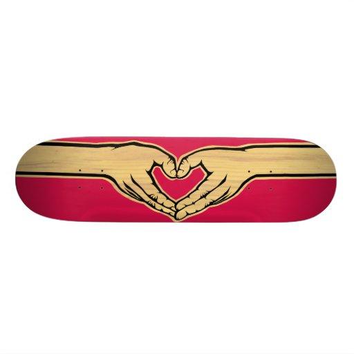"The Love Movement ""Hearthands"" Skate Board Decks"
