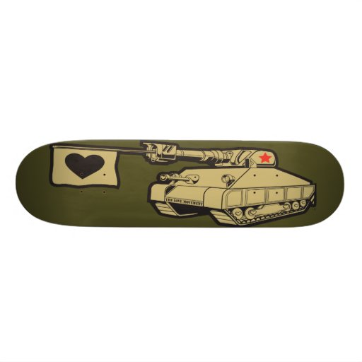 "The Love Movement ""Love Tank"" Custom Skate Board"