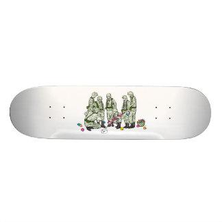 "The Love Movement ""Prior Planning"" Custom Skate Board"