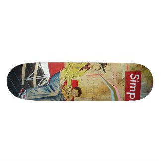 "The Love Movement ""Simplify"" Skate Board Decks"