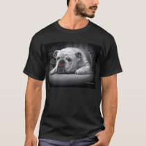 The love of a Bulldog T-Shirt