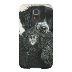 Case-Mate Barely There Samsung Galaxy S5 Case with Newfoundland Phone Cases design