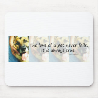 The Love of a Pet Mouse Pad