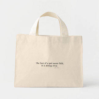 The Love of a Pet (words only) Bag