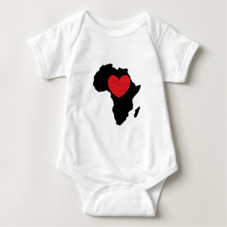 The Love of Africa Baby Bodysuit