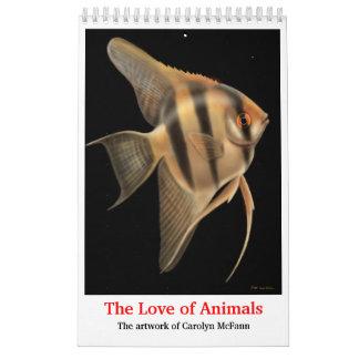The Love of Animals Calendar