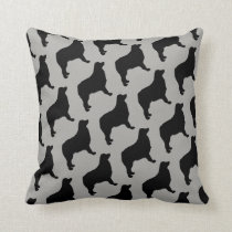 The Love of Australian Shepherd Dogs Pillow