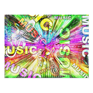 The Love of Music Postcard