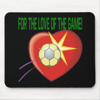 The Love Of The Game Mouse Pad