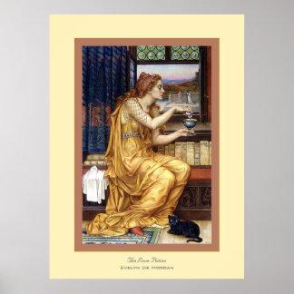 The Love Potion Evelyn De Morgan Print