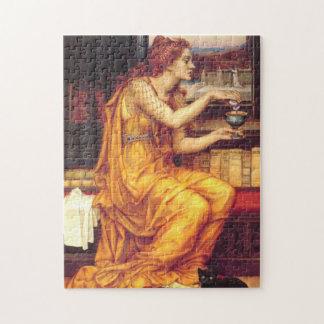 """The Love Potion"" Pre-Raphaelite Era - Puzzle"