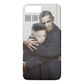 The love story between Kim Jung Un & Obama iPhone 8 Plus/7 Plus Case