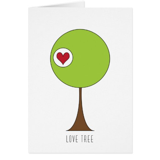 The Love Tree Greeting Cards