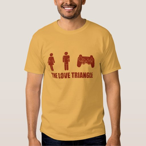 The Love Triangle T Shirt