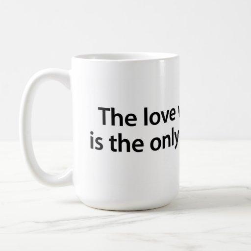 The love we give away… coffee mugs
