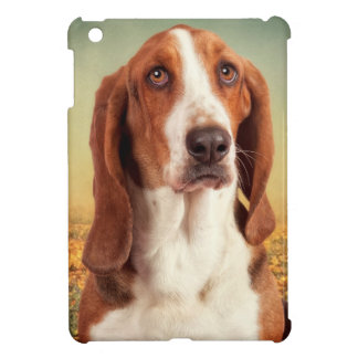 The Loveable Basset Hound Case For The iPad Mini