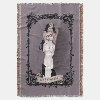 the Lovecats Throw Blanket