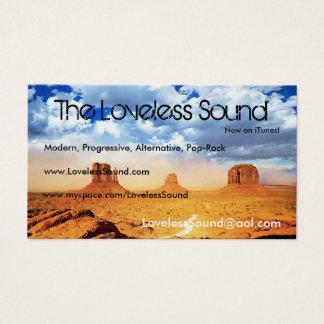 The Loveless Sound Business Card