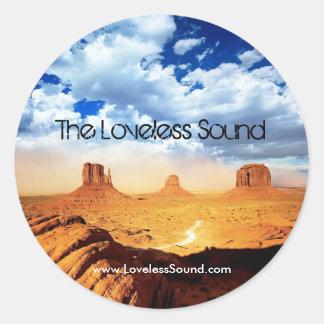 The Loveless Sound Classic Round Sticker