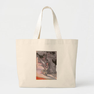 The Lovely Lady of Light Large Tote Bag