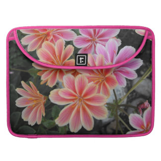 The Lovely Lewisia-Cotyledon Sleeves For MacBook Pro
