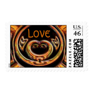 The Lover Postage Stamps