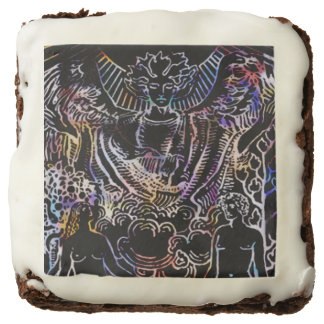 The Lover Tarot Card Chocolate Brownie