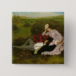 The Lovers, 1870 Button