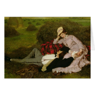 The Lovers, 1870 Card
