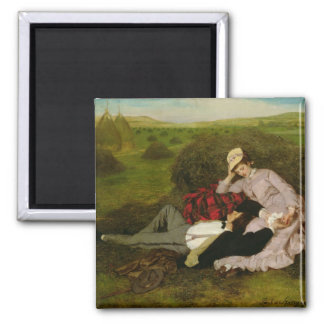 The Lovers, 1870 Refrigerator Magnet