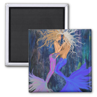 The Lovers 2 Inch Square Magnet