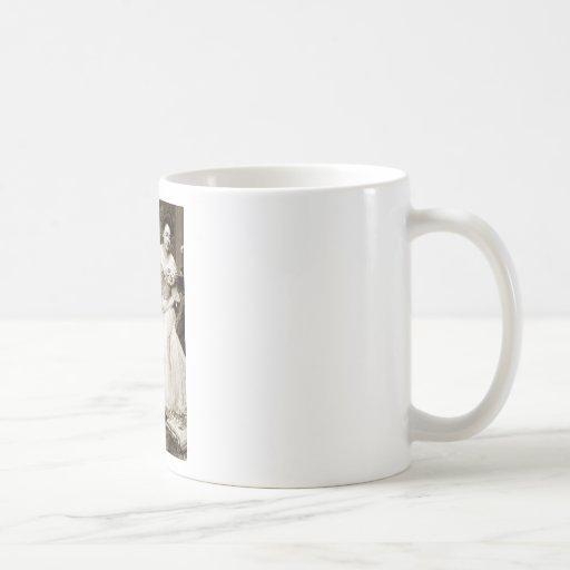 The Lovers Classic White Coffee Mug