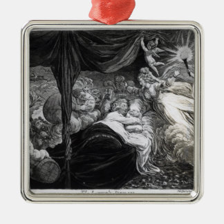 The Lover's Dream, 1795 Metal Ornament