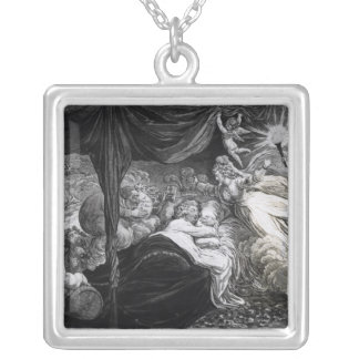 The Lover's Dream, 1795 Silver Plated Necklace