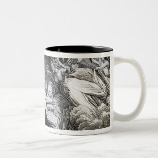 The Lover's Dream, 1795 Two-Tone Coffee Mug