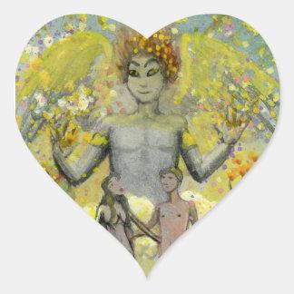 The Lovers Heart Sticker
