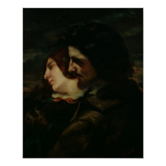 The Lovers in the Countryside, after 1844 Poster