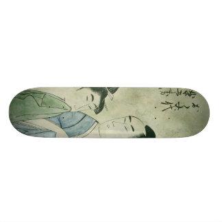 The Lovers Ochiyo and Hanberi Skate Board Decks