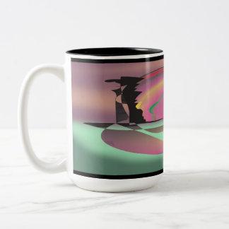 The Lovers Quarrel Two-Tone Coffee Mug
