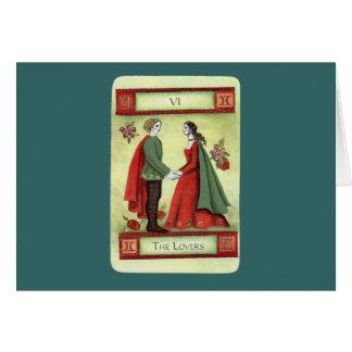 """The Lovers"" tarot card"