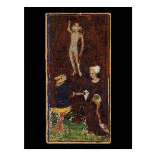 The Lovers Tarot Card Post Card