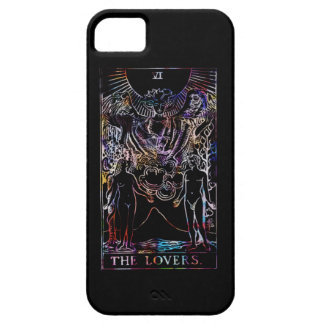 The Lovers Tarot Party iPhone SE/5/5s Case
