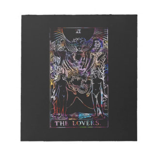 The Lovers Tarot Party Note Pads