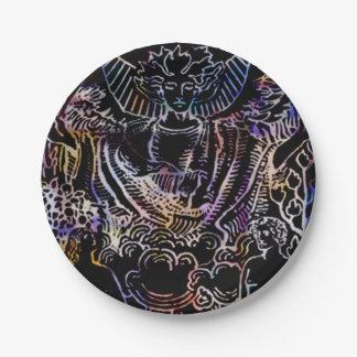 The Lovers Tarot Party 7 Inch Paper Plate