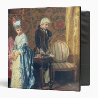 The Lovers' Tiff, 1872 (oil on panel) 3 Ring Binder