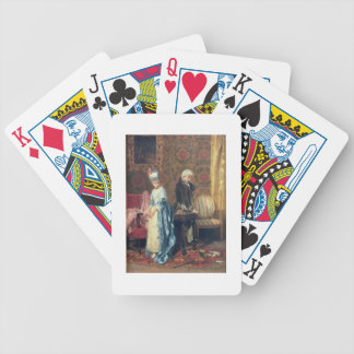 The Lovers' Tiff, 1872 (oil on panel) Bicycle Playing Cards
