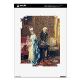 The Lovers' Tiff, 1872 (oil on panel) iPad 3 Skin