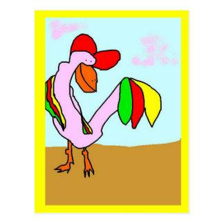 The Lovestruck Bird Postcard