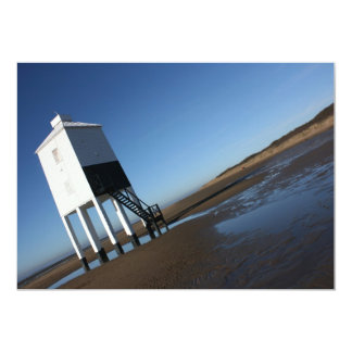 The Low Lighthouse, Burnham on Sea, Somerset, UK Card