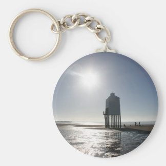 The Low Lighthouse, Burnham on Sea, Somerset, UK Keychain